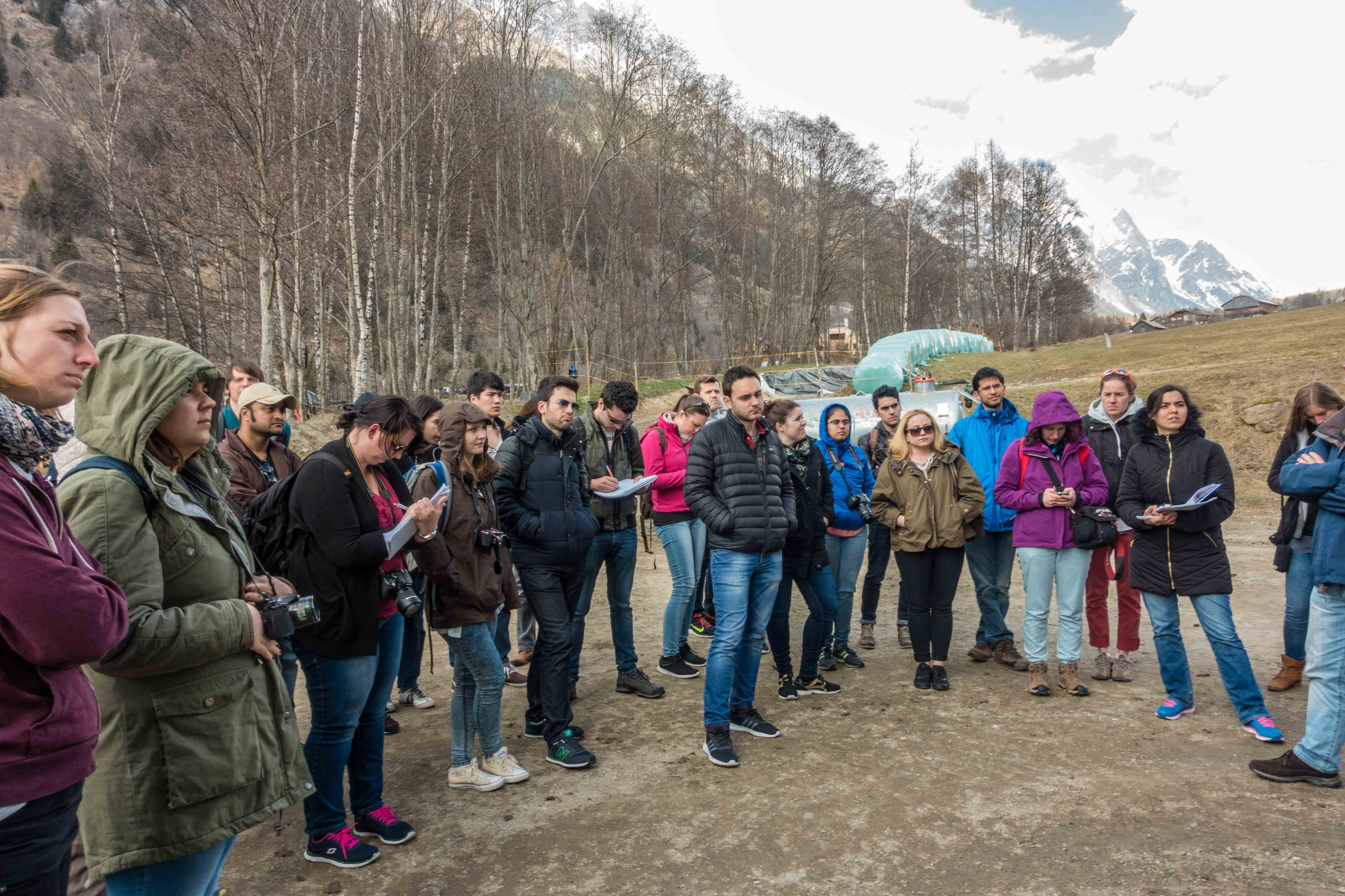 IMLA Main Project I in Italy: excursion to South Tyrol - Picture 2 © Prof. Fritz Auweck