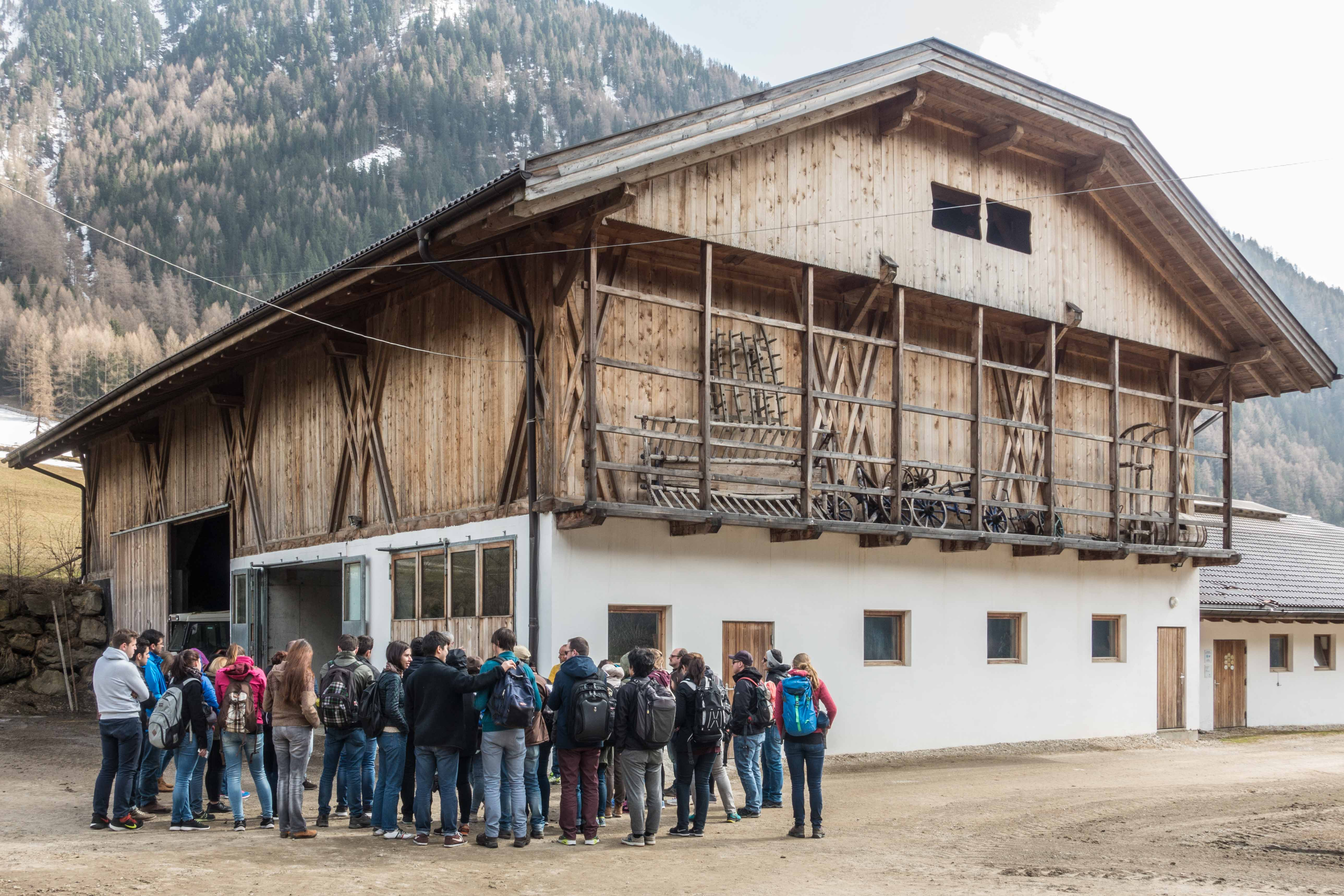 IMLA Main Project I in Italy: excursion to South Tyrol - Picture 5 © Prof. Fritz Auweck
